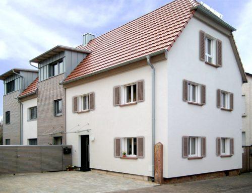 Sanierung eines Wohnhauses mit Werbeagentur in Kleinwallstadt, 2008