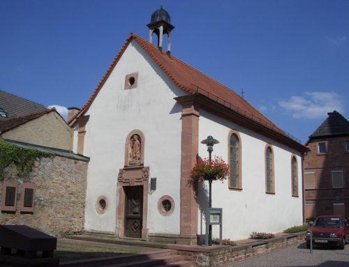 Sanierung der Ölbergkapelle in Kleinwallstadt, 2004