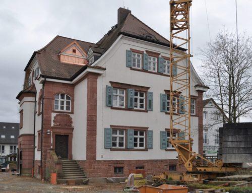 Ehemaliges Forstamt Umbau und Sanierung in Kleinwallstadt, 2017