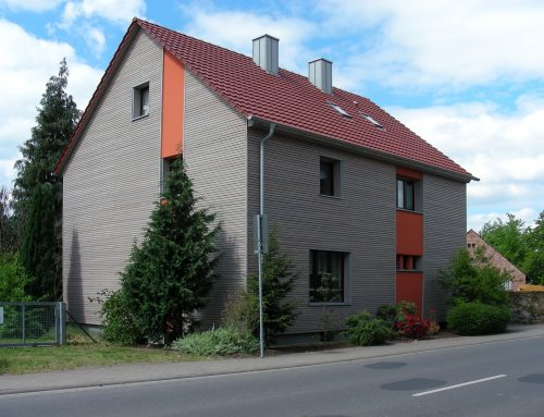 Fassadensanierung in Kleinwallstadt, 2006