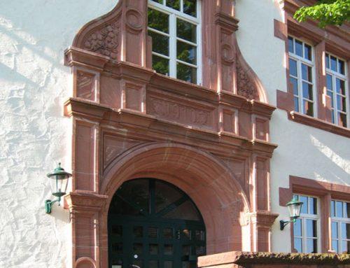 Umbau und Sanierung des Rathauses in Kleinwallstadt, 1998