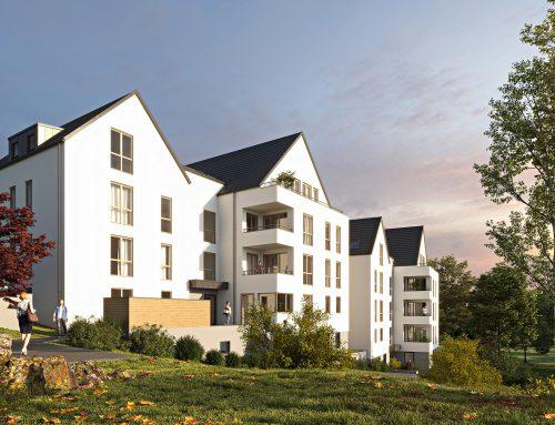 Mehrfamilienhaus mit 21 Wohneinheiten, Wertheim